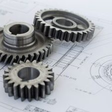 Three gears on a project