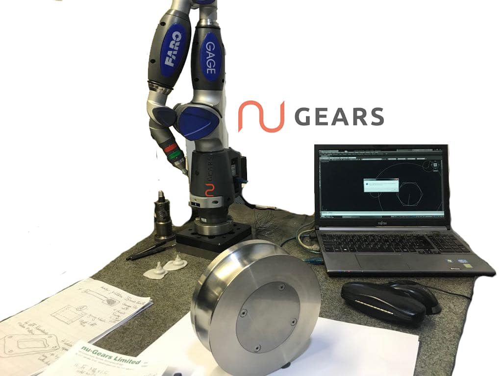 Faro Inspection Arm for precision engineering and gearcutting in Birmingham